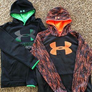 2 Under Armour  hoodies